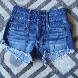 AEO High Rise Festival Jean Shorts
